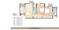 Tower A/A1/A2/B/B1 Type -A1(2BHK)