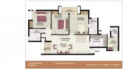 3-BHK+Worker_1310 Sq.Ft.Type-4