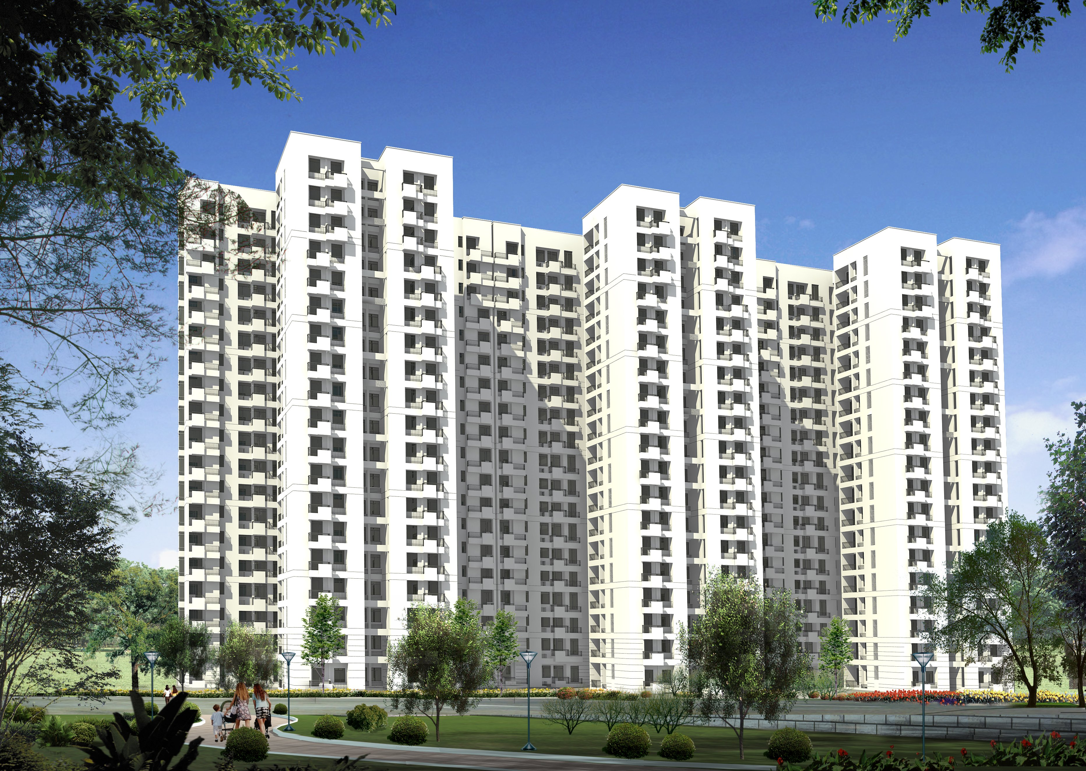 Jaypee kensington park Apartments heights