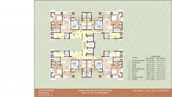 Floor PLAN Block A-A-LOWER-PENTHOUSE-CLUSTER-PLAN