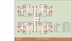 D-cluster-plan 13 D-unit-plan 14 Floor PLAN Block E-LOWER-CLUSTER-plan
