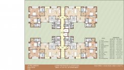 Floor PLAN Block H-LOWER-PENTHOUSE-CLUSTER-PLANH
