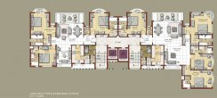 Fifth Floor 4BHK+Family (Type D) & 3BHK+Family (Type D)