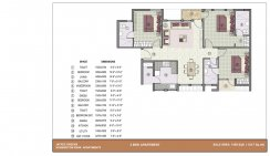 3 BHK Apartment_1450 Sq. ft.
