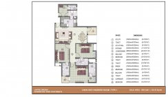 3 BHK with worker room_1500 Sq. ft.Type-1