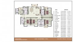 4 BHK with worker room_1980 Sq. ft.Type-2