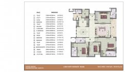 4 BHK With Worker Room_2100 Sq. ft.