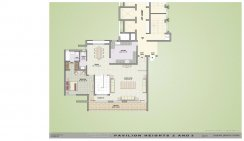 Floor Plans-2BHK-Pent-House-Lower-Level Type-2