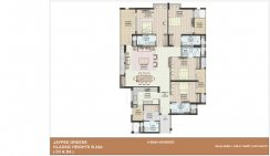 4 BHK+worker- 2470 sq ft