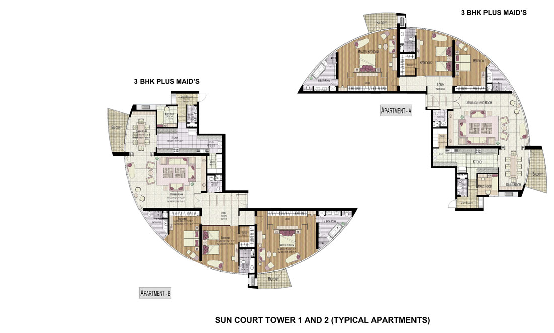 Jaypee Sun Court I And Ii Residential Property