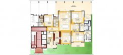 Unit Plan-Ground Floor - 3BHK
